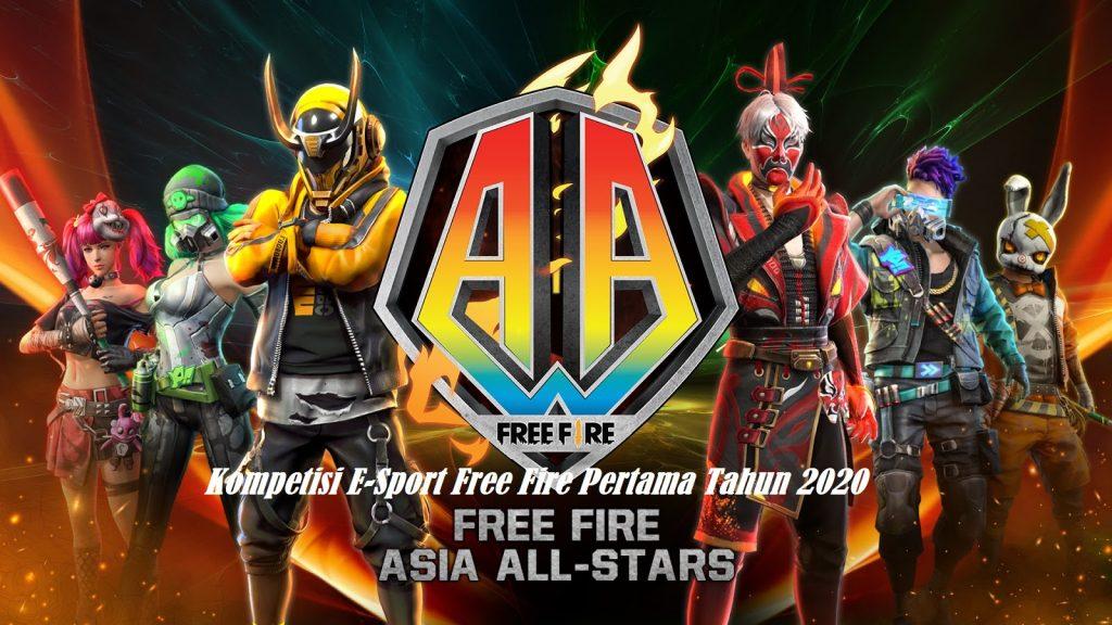 Kompetisi E-Sport Free Fire Pertama Tahun 2020